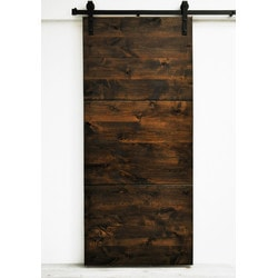 Dogberry s Modern Slab Double Barn Door Model 151466091 Interior Doors