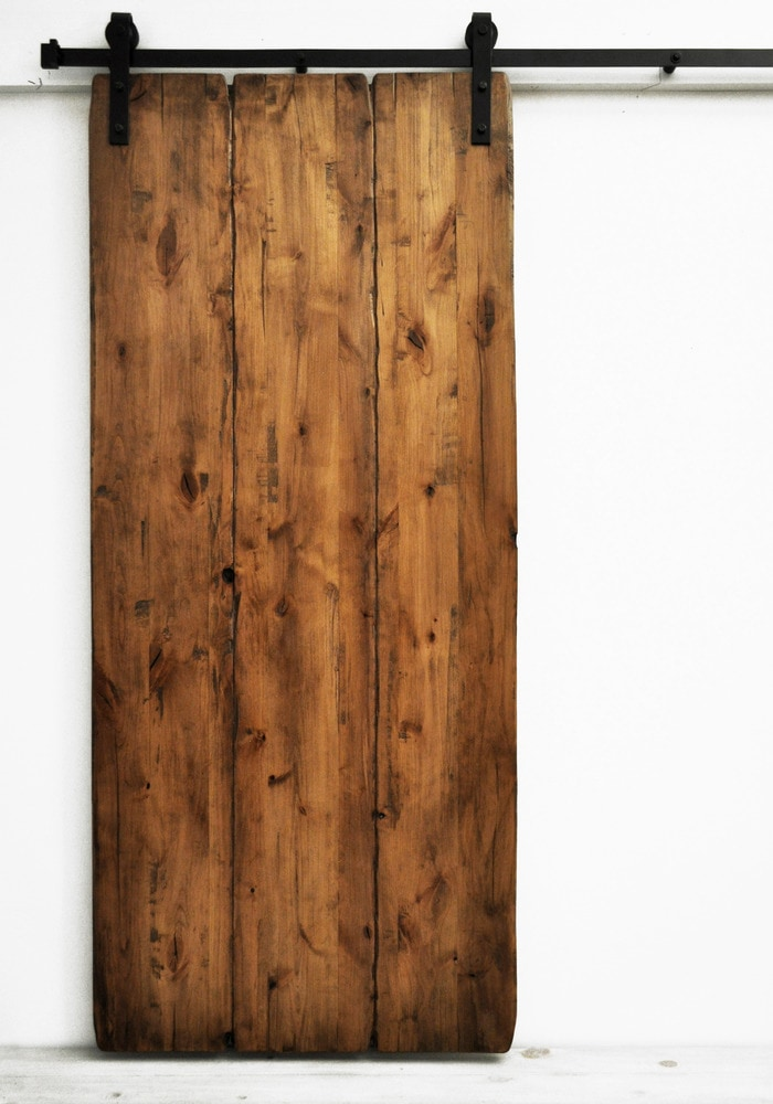 Dogberry Collections Tuscan Villa Double Barn Door Alder
