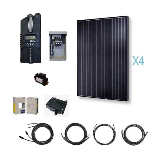 Renogy - 1000 Watt 12 Volt Monocrystalline Solar Cabin Kit 151642861