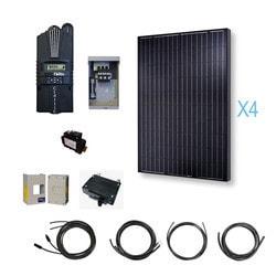 Renogy 1000 Watt 12 Volt Monocrystalline Solar Cabin Kit Model 151642861 Clean Energy Off-Grid Cabin Systems