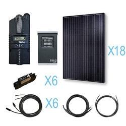 Renogy 4500 Watt 48 Volt Monocrystalline Solar Cabin Kit Model 151644471 Clean Energy Off-Grid Cabin Systems
