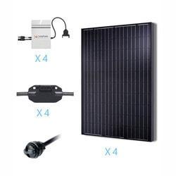Renogy 1KW Grid Tied Monocrystalline Solar Kit Model 151686101 Clean Energy Off-Grid Cabin Systems