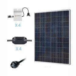Renogy 1KW Grid Tied Polycrystalline Solar Kit Model 151686111 Clean Energy Off-Grid Cabin Systems
