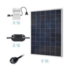 Renogy 4KW Grid Tied Polycrystalline Solar Kit Model 151686261 Clean Energy Off-Grid Cabin Systems