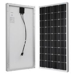Renogy 100 Watt 12 Volt Monocrystalline Solar Panel Model 151635791 Traditional Solar Panels