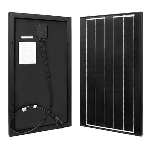 Renogy - 30 Watt 12 Volt Monocrystalline Solar Panel 151639151