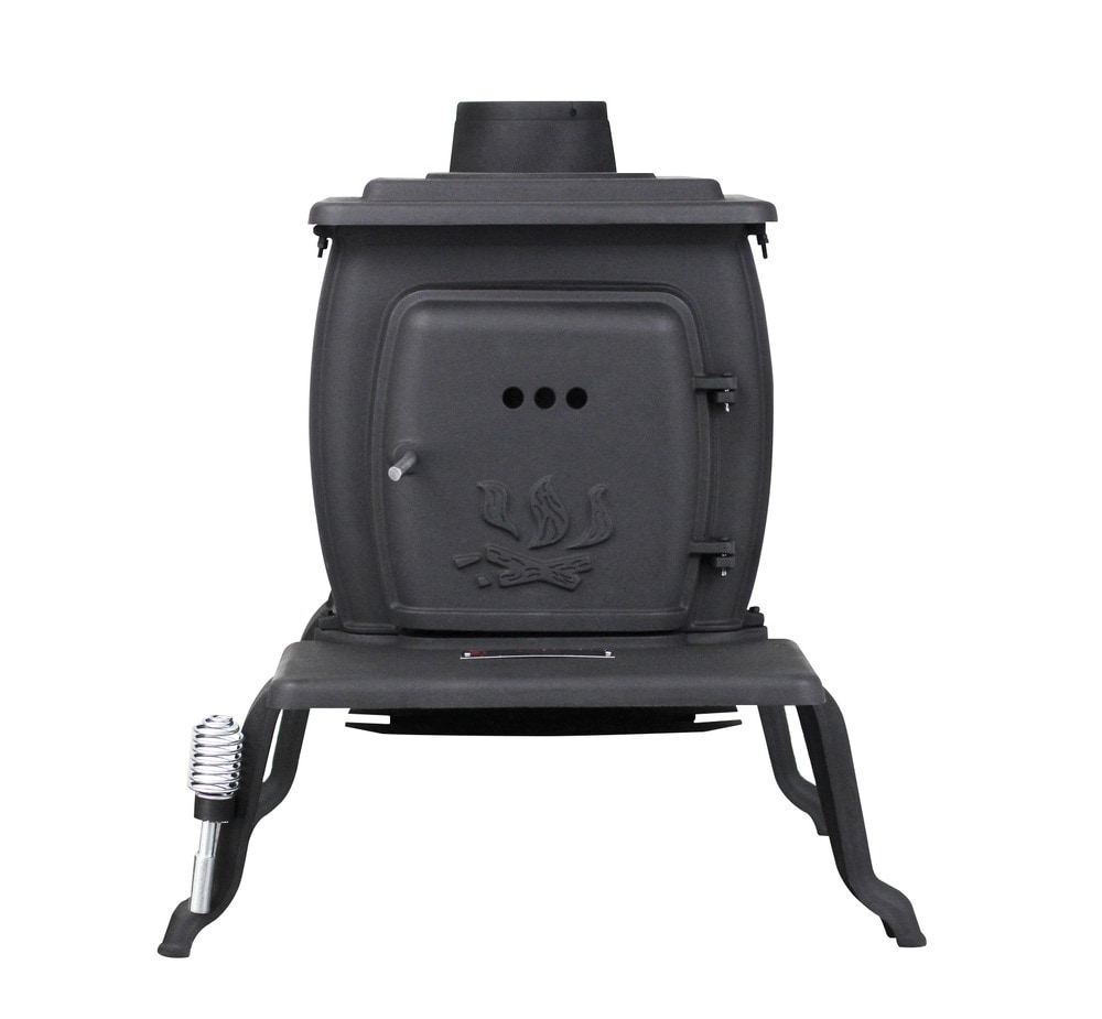 how to clean cast iron stove