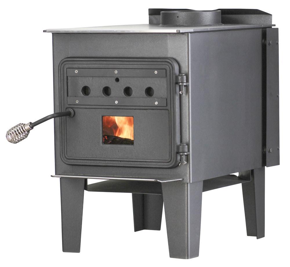 Steel Wood Heaters : Vogelzang plate steel wood stoves