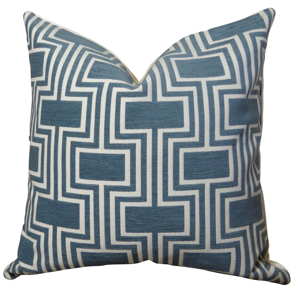 Standard Decorative Pillow Measurements : Plutus Brands Plutus Midnight Conduit Handmade Throw Pillow Size / 20