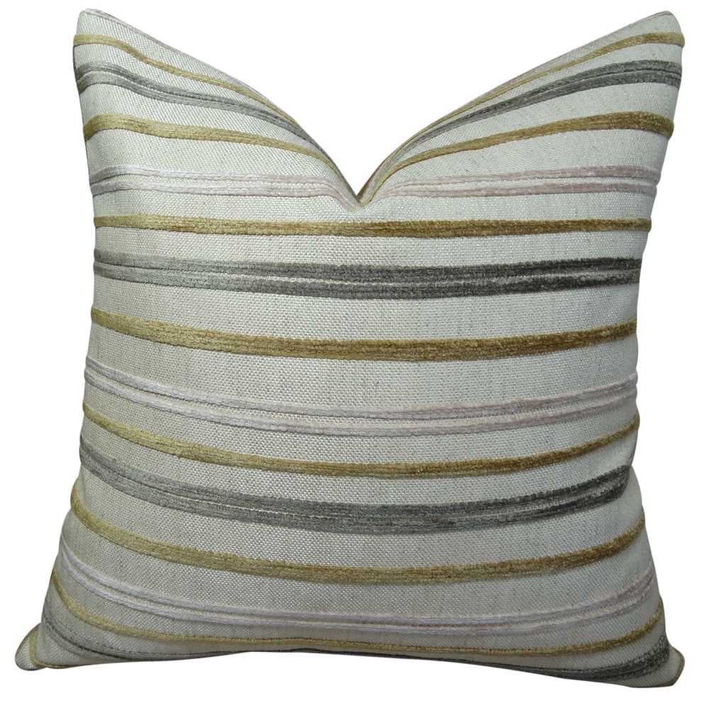 Throw Pillow Standard Size : Plutus Brands Plutus Expanse Handmade Throw Pillow Size / 20
