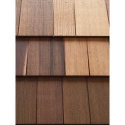 ColortonesComplete Western Red Cedar Shingle Panel Model 151513751 Wood Siding