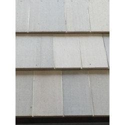 ColortonesComplete Western Red Cedar Shingle Panel Model 151513771 Wood Siding
