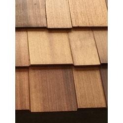 ColortonesComplete Western Red Cedar Shingle Panel Model 151513761 Wood Siding