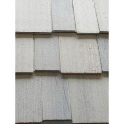 ColortonesComplete Western Red Cedar Shingle Panel Model 151513781 Wood Siding