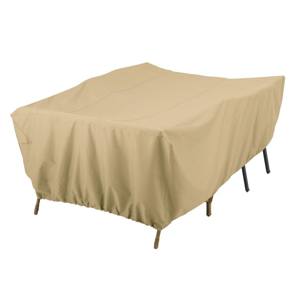 Classic Accessories Terrazzo Patio Furniture Set Covers General Purpose Patio Furniture Set Cover