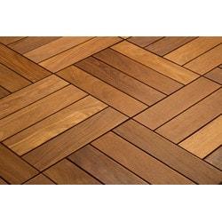 Kontiki FlexDeck Interlocking Wood Deck Tiles Model 150208051 Deck Tiles