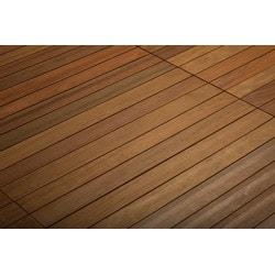 Kontiki FlexDeck Interlocking Wood Deck Tiles Model 150207981 Deck Tiles