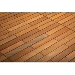 Kontiki FlexDeck Interlocking Wood Deck Tiles Model 150207931 Deck Tiles
