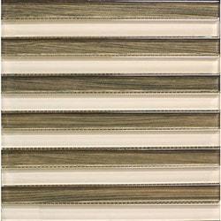 GL Stone & Tile Linear Glass Mosaics Model 151701721 Kitchen Glass Mosaics
