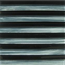 GL Stone & Tile Linear Glass Mosaics Model 151701731 Kitchen Glass Mosaics