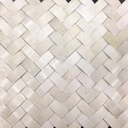 GL Stone & Tile Basketweave Pattern Natural Stone Mosaics Model 151792381 Kitchen Stone Mosaics