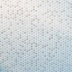 GL Stone & Tile Porcelain Circle Mosaics Model 151715781 Kitchen Wall Tiles