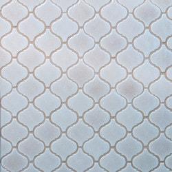 GL Stone & Tile Arabesque Pattern Glass Mosaics Model 151701921 Kitchen Glass Mosaics