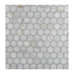 GL Stone & Tile Hexagon Pattern Natural Stone Mosaics Model 151795851 Kitchen Stone Mosaics