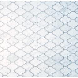 GL Stone & Tile Arabesque Pattern Marble Mosaics Model 151796051 Kitchen Stone Mosaics