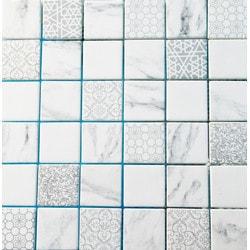 GL Stone & Tile Recycled Glass Mosaics Model 151701791 Kitchen Glass Mosaics