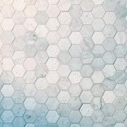 GL Stone & Tile Hexagon Pattern Natural Stone Mosaics Model 151795931 Kitchen Stone Mosaics