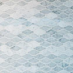 GL Stone & Tile Arabesque Pattern Marble Mosaics Model 151796021 Kitchen Stone Mosaics