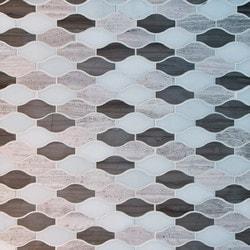 GL Stone & Tile Arabesque Pattern Marble Mosaics Model 151795731 Kitchen Stone Mosaics