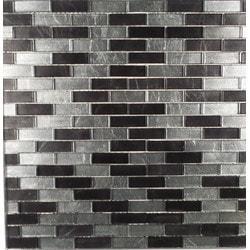 GL Stone & Tile Brick Pattern Glass Mosaics Model 151702081 Kitchen Glass Mosaics
