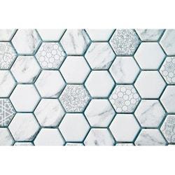 GL Stone & Tile Recycled Glass Mosaics Model 151701801 Kitchen Glass Mosaics