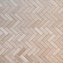 GL Stone & Tile Herringbone Pattern Natural Stone Mosaics Model 151792411 Kitchen Stone Mosaics