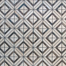 GL Stone & Tile Designer Pattern Natural Stone Mosaics Model 151792271 Kitchen Stone Mosaics