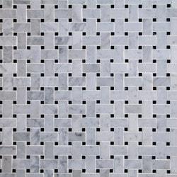 GL Stone & Tile Basketweave Pattern Natural Stone Mosaics Model 151792361 Kitchen Stone Mosaics