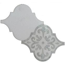 GL Stone & Tile Water Jet Cut Marble Mosaics Model 151795841 Kitchen Stone Mosaics