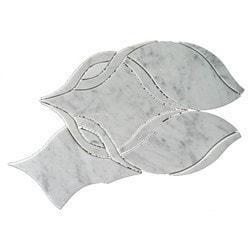 GL Stone & Tile Water Jet Cut Marble Mosaics Model 151795831 Kitchen Stone Mosaics