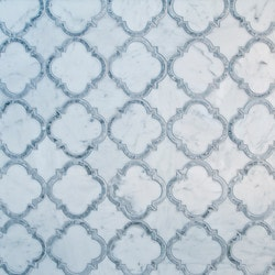 GL Stone & Tile Water Jet Cut Marble Mosaics Model 151795991 Kitchen Stone Mosaics