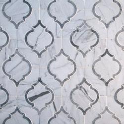 GL Stone & Tile Water Jet Cut Marble Mosaics Model 151795751 Kitchen Stone Mosaics