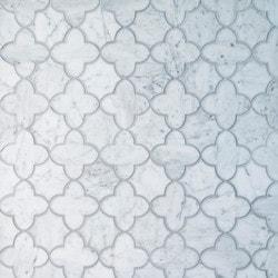 GL Stone & Tile Water Jet Cut Marble Mosaics Model 151795761 Kitchen Stone Mosaics