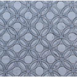 GL Stone & Tile Water Jet Cut Marble Mosaics Model 151795791 Kitchen Stone Mosaics