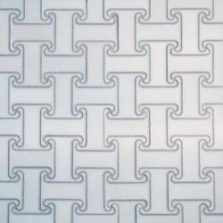 GL Stone & Tile Water Jet Cut Marble Mosaics Model 151795801 Kitchen Stone Mosaics