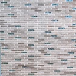 GL Stone & Tile Brick Pattern Stone & Glass Mosaic Model 151779601 Kitchen Wall Tiles