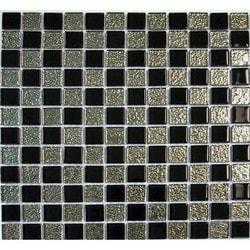 GL Stone & Tile Checkerboard Pattern Glass Mosaics Model 151701881 Kitchen Glass Mosaics