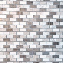 GL Stone & Tile Brick Pattern Natural Stone Mosaics Model 151792181 Kitchen Stone Mosaics