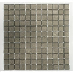 GL Stone & Tile Square Pattern Glass Mosaics Model 151701861 Kitchen Glass Mosaics