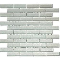 GL Stone & Tile Brick Pattern Glass Mosaics Model 151772821 Kitchen Glass Mosaics